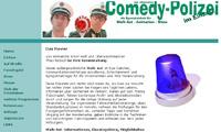 Die Comedy-Polizei - Website