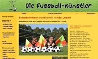 Die Fussball-Künstler - Website